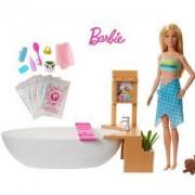 Игрален комплект Barbie - Кукла и вана с мехурчета, 1710183
