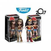 Set wonder woman Funko pop rock candy mujer maravilla