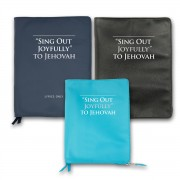Beautiful ZIPPER cover for Sing Out Joyfully to Jehovah (2017 edition) - with foil stamping