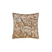 Almofada Quadrada Decorativa Estampada Gold 44cm X 44cm