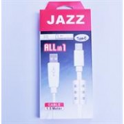 Jazz USB 2.0 Type A Male to USB Type C Connector