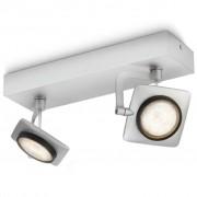 Philips myLiving Spotlight Millenium grijs 2x4,5 W 531924816