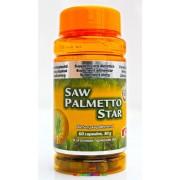 Saw Palmetto Star 60 db kapszula Fűrészpálma kivonat, 500 mg - StarLife