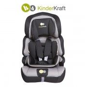 Столче за кола KinderKraft Comfort сиво
