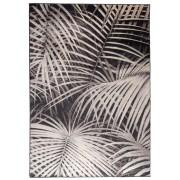 Zuiver Vloerkleed Palm By Night L170 X B240 Cm - Stof Zwart