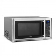 Klarstein Brilliance Pro Four micro-ondes 43L Grill chaleur tournante - Inox