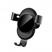 LENUO CL-27 Universal Gravity Air Vent Car Mount Bracket for iPhone Samsung Huawei - Grey