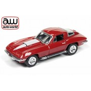Auto World 1:64 (1967 Corvette 427, Die Cast, Deluxe 2017 Release 1 Version A, Red)