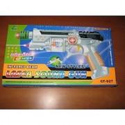 Laser Gun With Sound Light