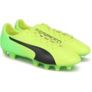 Puma evoSPEED 17.4 FG Football Shoes For Men(Yellow)