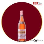 Vin Zestrea Merlot+Cabernet Sauvignon roze 0.75L