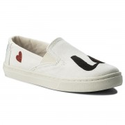 Teniși TOMS - Luca 10011482 White Denim