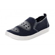 Azotic mens Canvas Shoes (washing-02-black)(8 M UK Men)