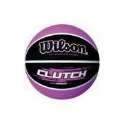 Bola De Basquete Clutch N.7 Roxa/preta Wilson