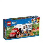 LEGO City pick-uptruck en caravan 60182