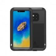 LOVE MEI Dust-proof Shock-proof Splash-proof Defender Phone Casing for Huawei Mate 20 Pro - Black