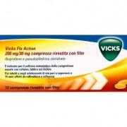 PROCTER & GAMBLE SRL Vicks Flu Action 12 Compresse