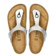 Birkenstock Gizeh slippers zilver