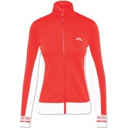J.Lindeberg Women Mid Layer Pipa racing red