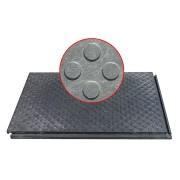Plastová zátěžová podlahová deska 01 - délka 120 cm, šířka 80 cm a výška 4,3 cm