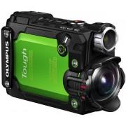 Camera Video de Actiune Olympus TOUGH TG-Tracker, 7.2 MP, Filmare 4K, Waterproof, Wi-Fi, GPS, Rezistente la socuri (Verde)