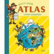 Deltas educatief boek Eerste grote atlas voor kinderen 27 cm