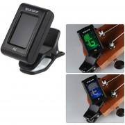 SWIFF A2 Mini Clip-On Automática LCD Sintonizador Digital Tone Para La Guitarra Eléctrica Acústica Bass Violín Cromática Ukulele
