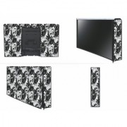 HomeStore-YEP Non Woven Printed Led Cover/LCD Cover Size 32 Black