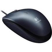Logitech M90 Wired Mouse - Full Size Comfort,