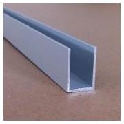 UPA20 - Profil U din aluminiu, 13,5x20x1,2mm