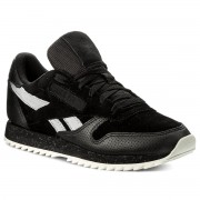 Обувки Reebok - Cl Lthr Ripple Sm BS9726 Black/Cool Shadow/Chalk