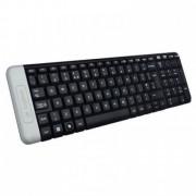 Tastatura LOGITECH Wireless Keyboard K230, Logitech unifying receiver, US, black, 920-003347