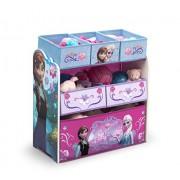 Delta Children Frozen Toy Storage With 6 Bin Organizer Featuring Disney Princesses Anna & Elsa