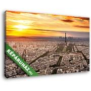 Párizsi naplemente (40x25 cm, Vászonkép )