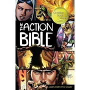 The Action Bible: God's Redemptive Story, Hardcover/Sergio Cariello