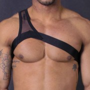 Leader Barcelona Gladiator Harness Black