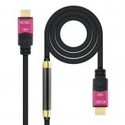 Nanocable Cabo HDMI V2.0 4K@60Hz 18Gbps com Repetidor Macho/Macho 30m Preto