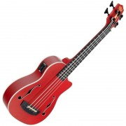 Kala U-Bass Journeyman matte red inkl. Gigbag
