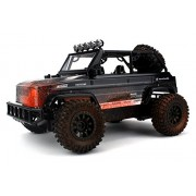 Monster Jeep Mud Defender SUV Remote Control RC Truck Off Road 2.4 GHz PRO System BIG 1:12 Scale Size RTR w/ Custom Mud Splatter Paint Job, Working Suspension, Spring Shock Absorbers by Velocity Toys