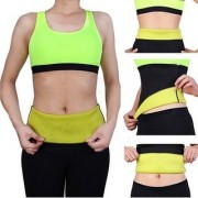 shopeleven Hot Shapers-Belt-Band-Neotex-Body-Sweat-Fat-Burn-Hot Look Slimming Men Women