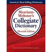 Merriam-Webster's Collegiate Dictionary: Thumb-Indexed, Hardcover/Merriam-Webster