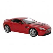 Rode Aston Martin V12 schaalmodel