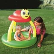 Piscina gonflabila cu acoperis bebelusi Ladybug