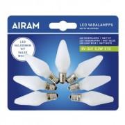 AIRAM Reservlampa LED till adventsljusstake E10, 7 st 6435200157355 Replace: N/A
