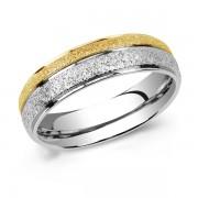 Silvego Snubní ocelový prsten FLERS - RRC0365