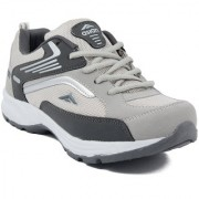 Asian Men Gray Lace-Up Training Shoes