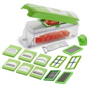Kitchenware Special 12 in 1 Fruit and Vegetable Graters Slicer Chipser Dicer Cutter Chopper Upgraded