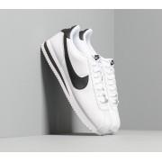 Nike Cortez Basic Leather White/ Black-Metallic Silver