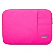 POFOKO Oscar Series 15.4 inch Inner Package Case Pouch Bag Sleeve for Laptop Notebook(Magenta)
