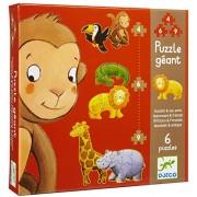 Djeco / Giant Puzzles Marmoset & Friends